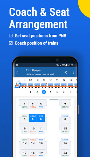Where is my Train : Indian Railway & PNR Status screenshot 5