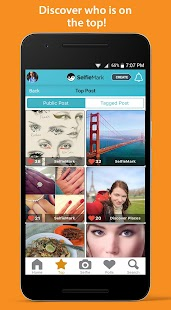 SelfieMark -Selfie Cam & Polls - screenshot