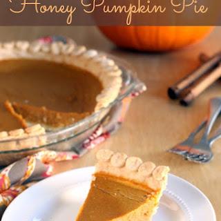 Gluten Free Pumpkin Pie With Honey Recipes