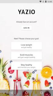 YAZIO - Calorie Counter APK for Bluestacks