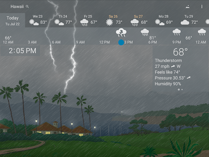 Precise Weather YoWindow Screenshot