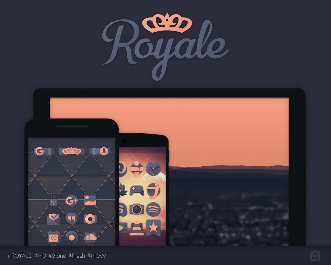 Royale Iconpack Screenshot 0