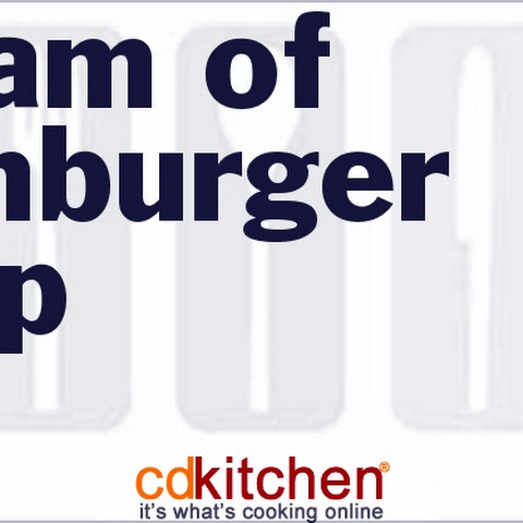 Cream Of Hamburger Soup