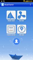 Screenshot of iBoatCharter