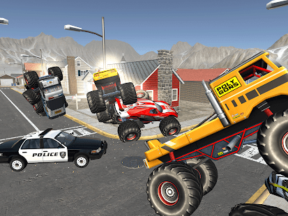 Monster Truck Racing - Polizist Stadtpolizei Chase android spiele download