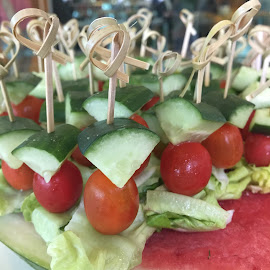 just skewers by Mary Yeo - Food & Drink Plated Food