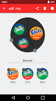 Screenshot of Coca-Cola Freestyle