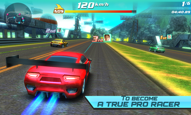 Drift car city traffic racer Screenshot 4
