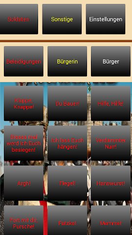 android Stronghold-Crusader Soundboard Screenshot 2