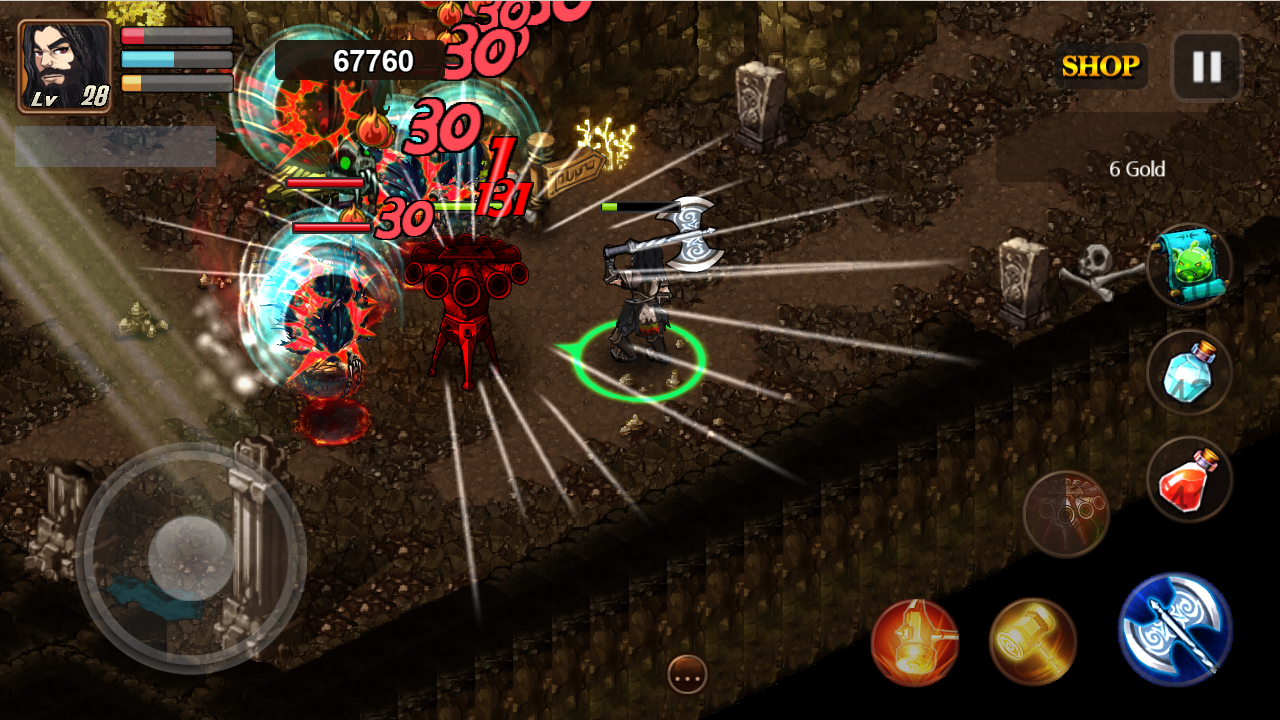 Hammer of Fury Screenshot 1