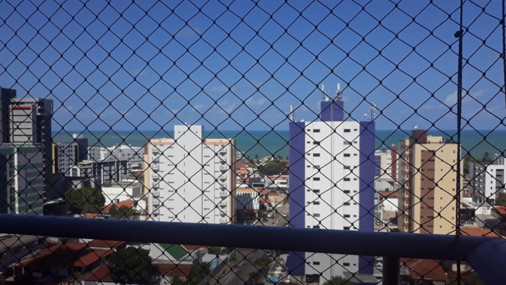 Apartamento com 3 dormitórios à venda, 125 m² por R$ 590.000 - Manaíra - João Pessoa/PB