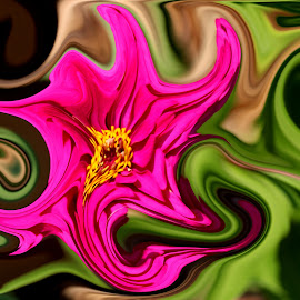 by Steve Tharp - Digital Art Abstract