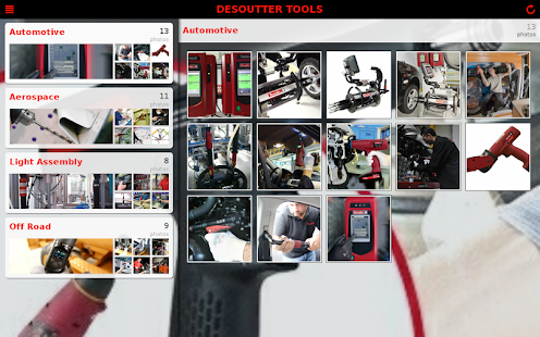Desoutter Industrial Tools - screenshot