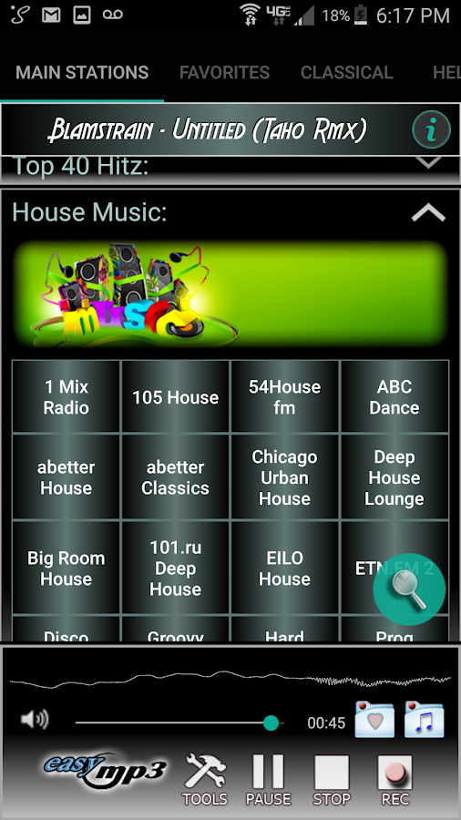 Internet Radio Recorder Pro Screenshot 3