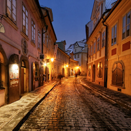 Míšenská ulice by Irena Brozova - City,  Street & Park  Historic Districts ( prague )
