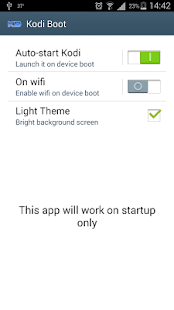 App Kodi Boot APK for Windows Phone