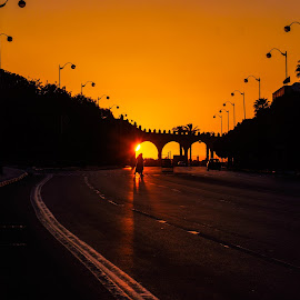 Sunset by Haddouchi Tarik - City,  Street & Park  Street Scenes ( rabat, morocco, photo, city, maroc )