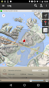 The Photographer's Ephemeris- screenshot thumbnail