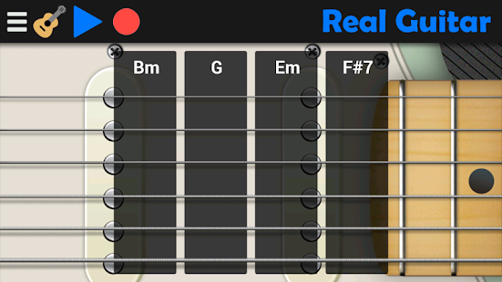 Real Guitar APK for Bluestacks