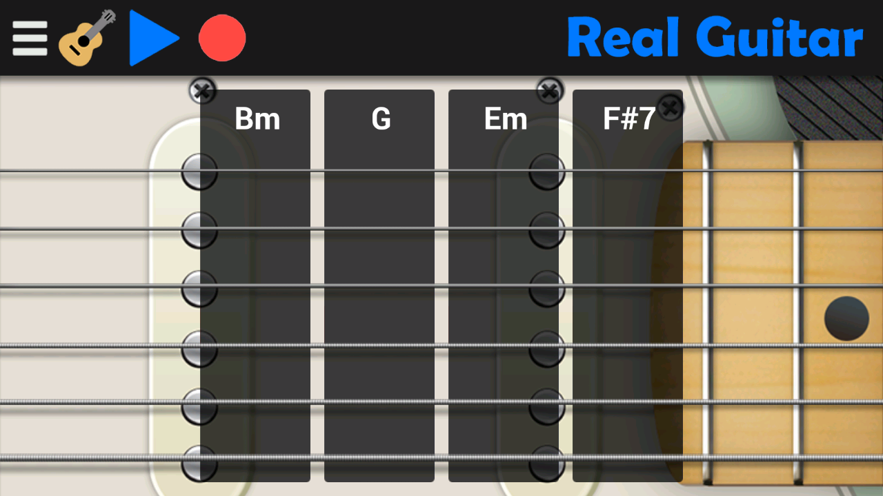 Real Guitar Screenshot 2
