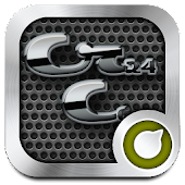 Download Carbon Chrome Solo Launcher Theme APK