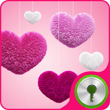 GO Locker Theme Pink Hearts