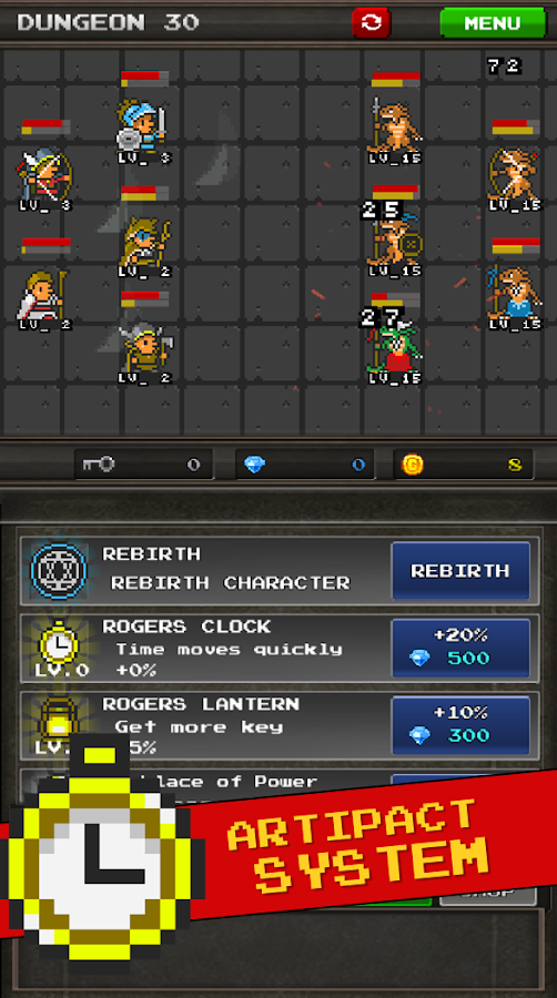 Pixel Heros - Idle RPG Screenshot 9
