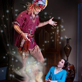 My Genie by Derek Galon - Digital Art People