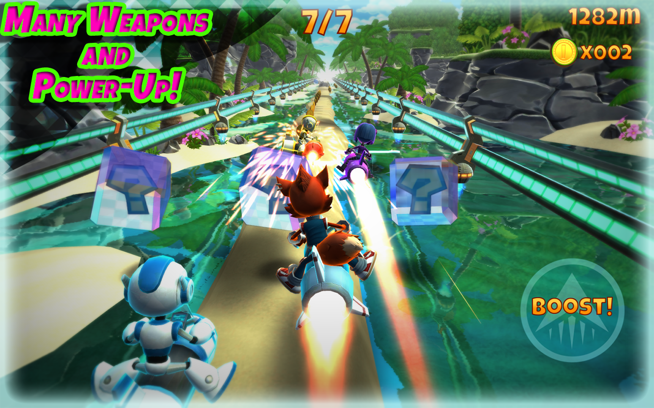 Rocket Racer Screenshot 3