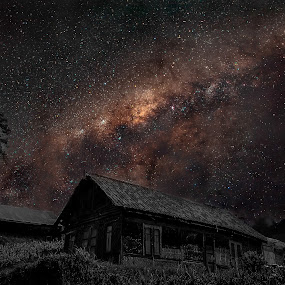 milky way  by Jun Hao - Landscapes Starscapes ( indonesia mount bromo )