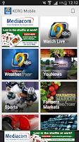 Screenshot of KCRG Mobile