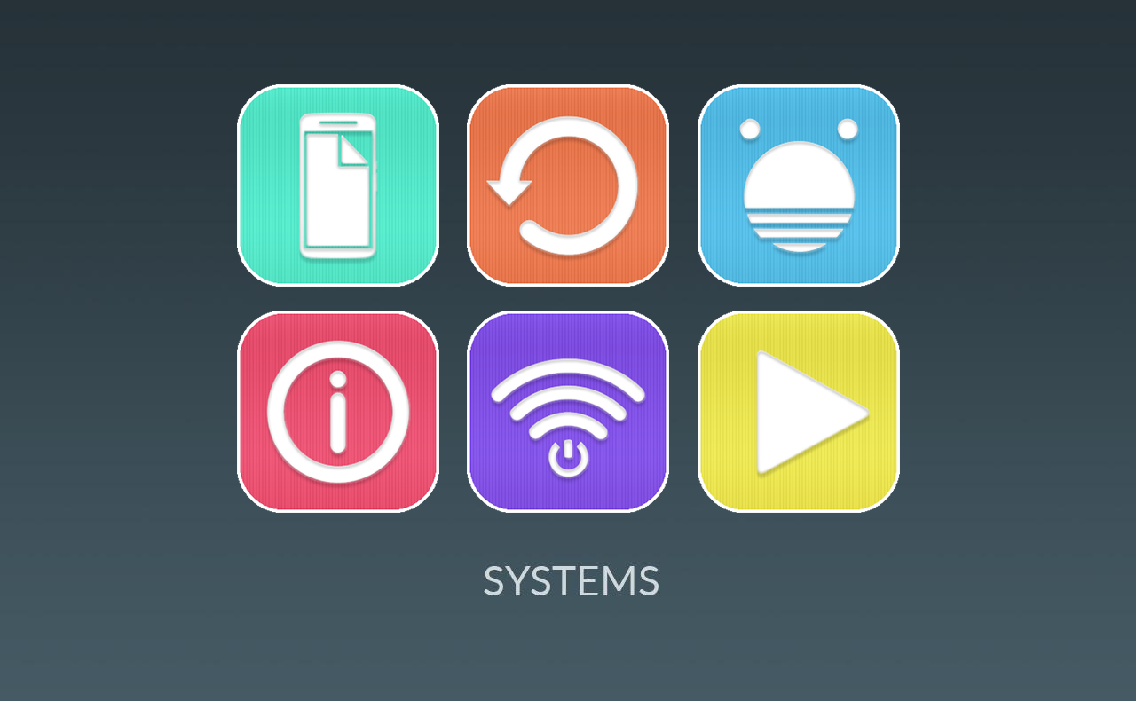 Colin UI - Simple Flat Icons Screenshot 4