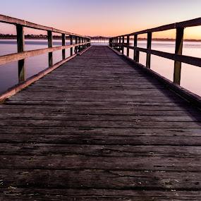 Middleton Beach Jetty by Tony Burnard - Landscapes Sunsets & Sunrises ( albany, pier, jetty, sunrise )