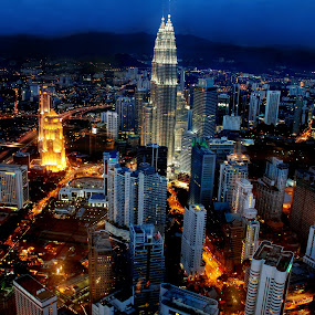 KL skyline by Woo Yuen Foo - Buildings & Architecture Office Buildings & Hotels