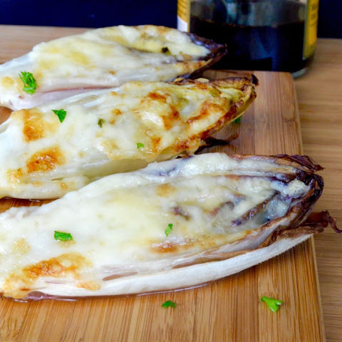 Cheesy Broiled Endive Appetizer