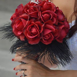 Bouquet by Brenda Shoemake - Wedding Details (  )