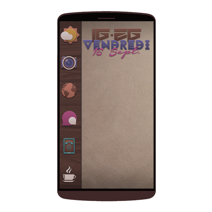 Fallies Icon pack - Chocolat Screenshot 6