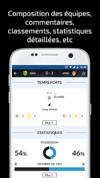Résultats Foot En Direct APK screenshot thumbnail 2