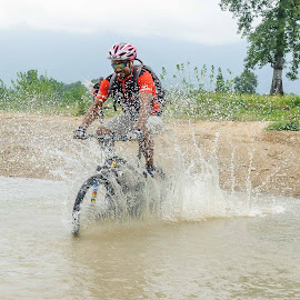 Cycling by Bishal Ranamagar - Sports & Fitness Cycling