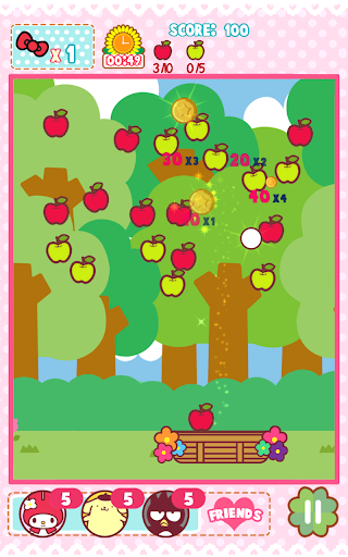 Hello Kitty Orchard - screenshot