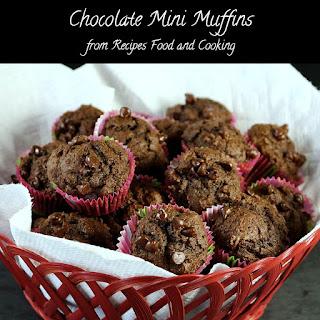 Chocolate Mini Muffins Recipes