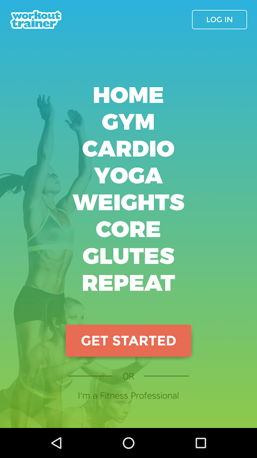 Workout Trainer: fitness coach Screenshot 0
