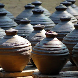 Pottery by Asif Bora - Artistic Objects Other Objects