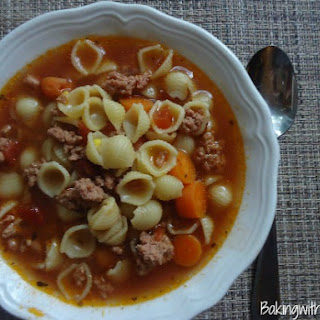 So Easy Hamburger Soup