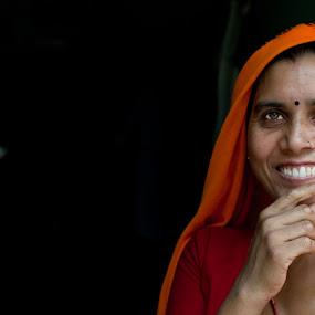 Beautiful Smile  by Adityendra Solanki - Novices Only Street & Candid ( nikon d3100, india, nikon, street photography )