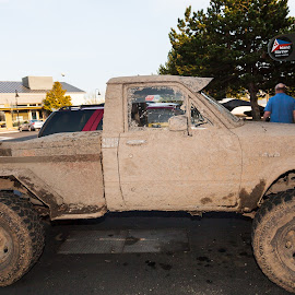 The Mud Magnet by Judy Lott - Transportation Automobiles ( mudding, mud, bellingham, nature, truck, sports, off-road usage )