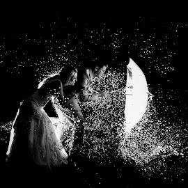 Fearless by Lodewyk W Goosen (LWG Photo) - Wedding Bride & Groom ( water, wedding photography, wedding day, weddings, wedding, brides, fearless, wet, bride and groom, wedding photographer, bride, groom )