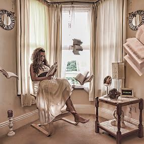 Lost in a story by Natalie Houlding - Digital Art People ( story, book )