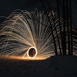 by Duane Deboer - Abstract Light Painting