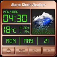 Alarm clock style weather widget PC Download Windows 7.8.10 / MAC
